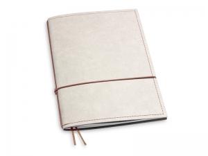 A5 1er Notizbuch Texon stone / braun