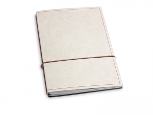 A5 2er Notizbuch Texon stone / braun, Notizenmix