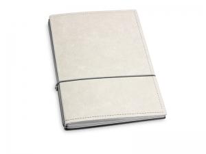 A5 2er Notizbuch Texon stone / grau, Notizenmix