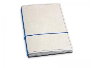 A5 3er Notizbuch Texon stone / blau, Notizenmix