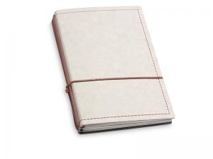 A6 3er Notizbuch Texon stone / braun mit Notizenmix