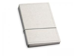 A6 3er Notizbuch Texon stone / grau mit Notizenmix