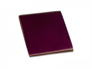 X-Steno Leder glatt violett mit 1 Einlage