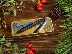 "Kaweco SPECIAL ""S"" Push Pencil 0.7 Black, mit Radierer"