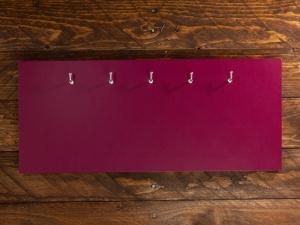 X17 Schlüsselbrett 5er Lefa violett