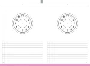 A5 Notizen Jahresungebundener Kalender, Zeitkreise