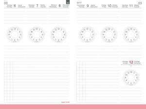 A6 Wochenkalender 2021 Zeitkreise, inkl. Leporello/Faltplaner