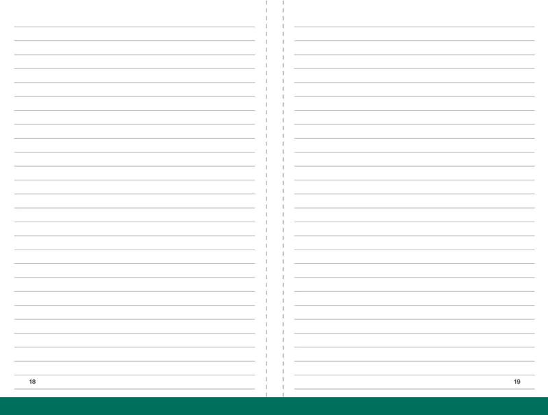 A6 Notizen liniert, 2er Pack
