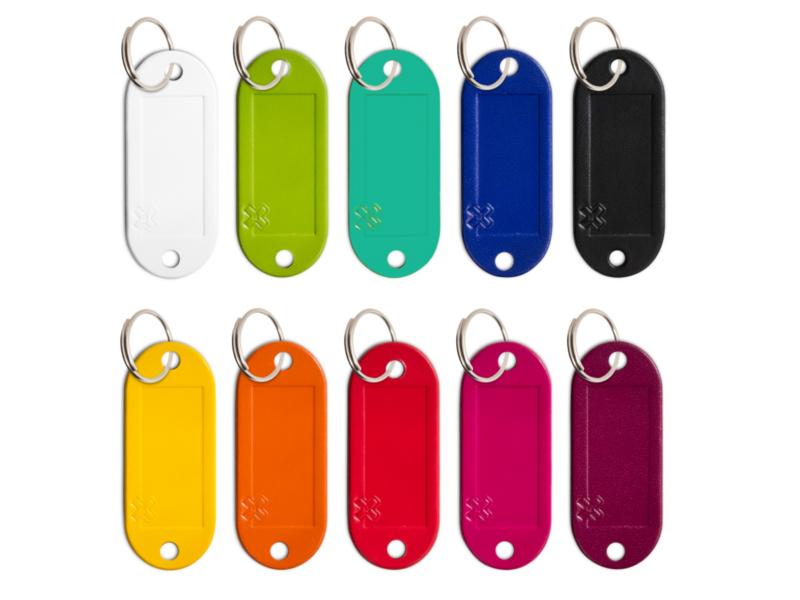 "Schlüsseletikett Lefa ""MIX"", 10er Pack"
