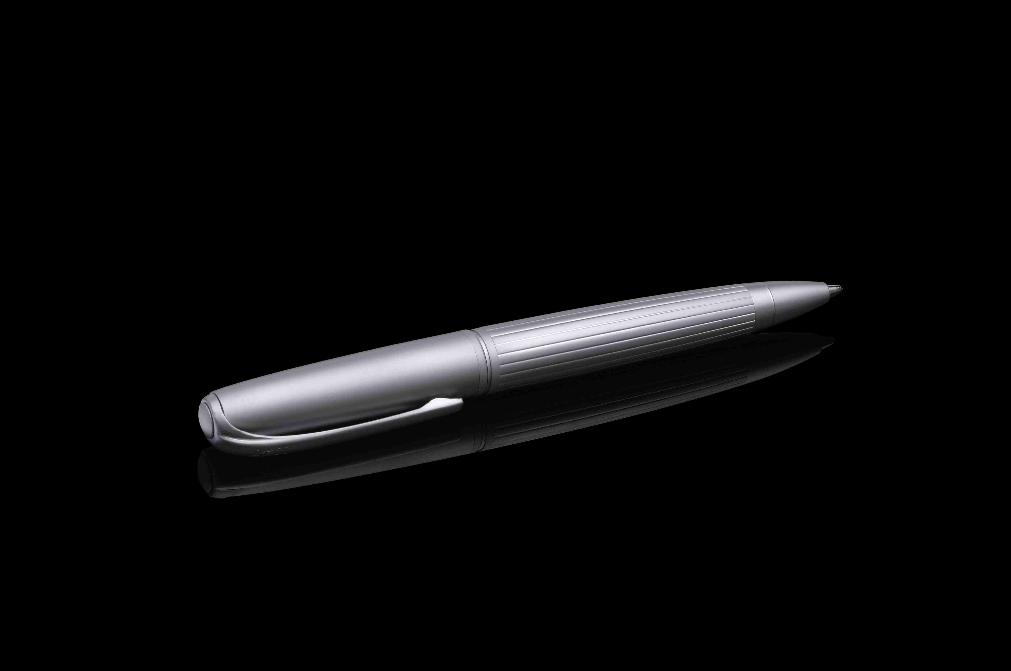 Stift N°1: Kugelschreiber alu matt