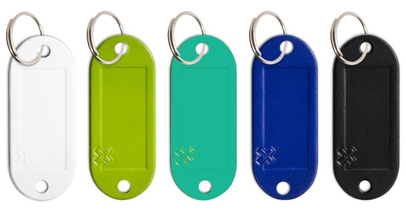 X17-Schlüsseletiketten