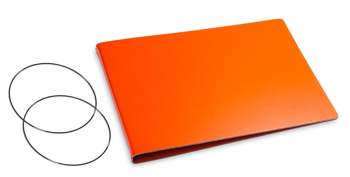 A5+ Quer Hülle 2er Lefa orange inkl. ElastiXs