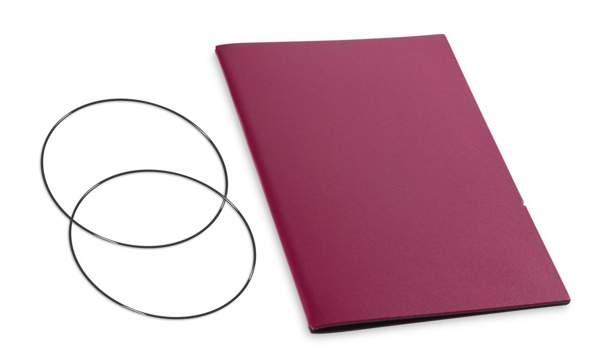 A5 Hülle 1er Lefa violett inkl. ElastiXs