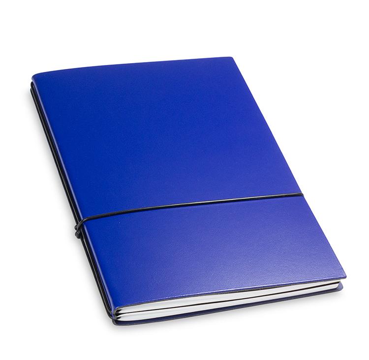 A5 2er Notizbuch Lefa blau, Notizenmix
