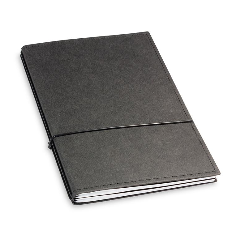 A5 2er Notizbuch Texon schwarz, Notizenmix