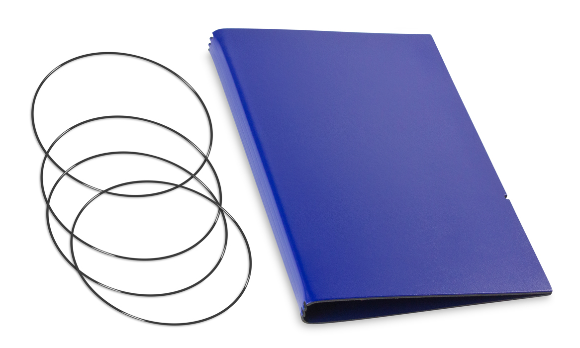 A5 Hülle 3er Lefa blau inkl. ElastiXs