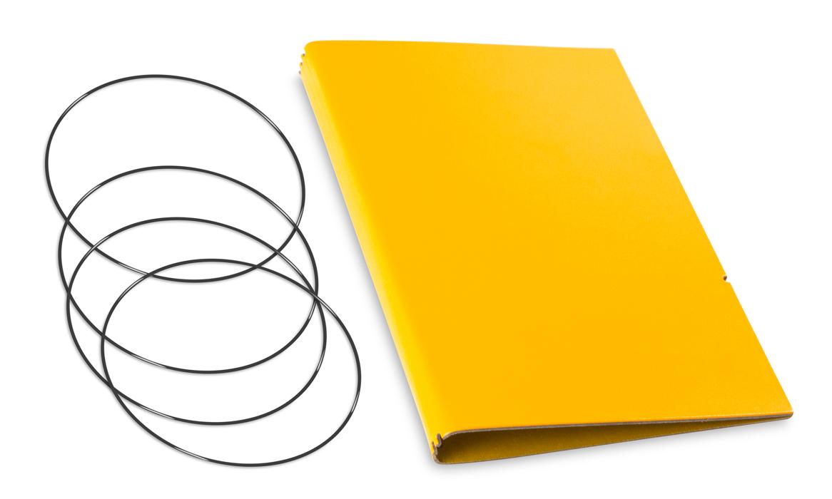 A5 Hülle 3er Lefa gelb inkl. ElastiXs