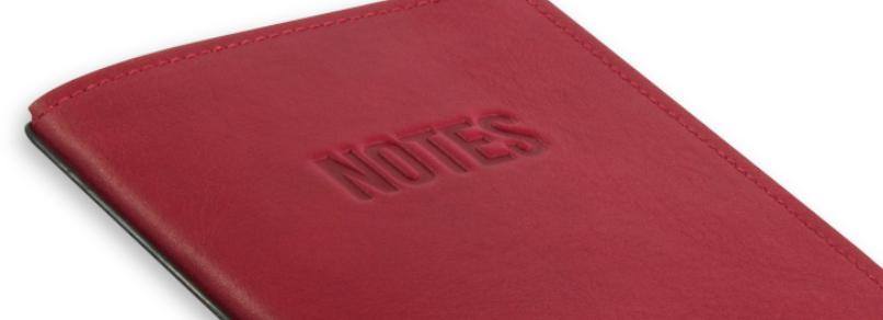 """""""NOTES"""" mit Blankoeinlagen"""