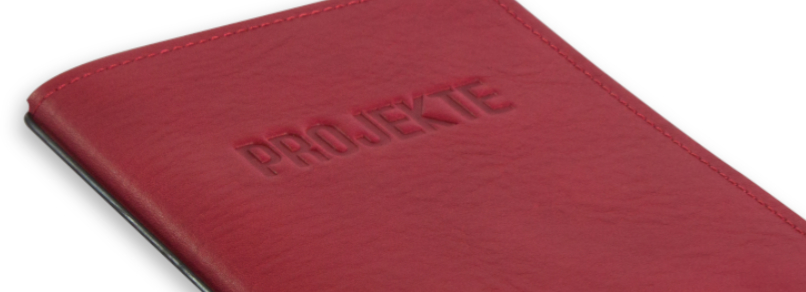 """""""PROJEKTE"""" mit Blankoeinlage"""