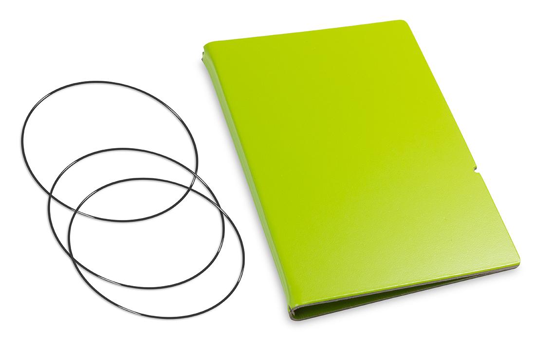 A6 Hülle 2er Lefa grün inkl. ElastiXs