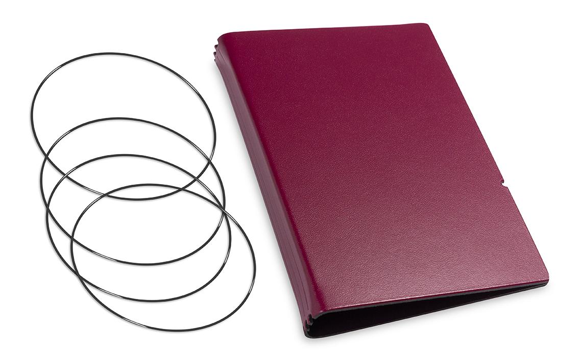 A6 Hülle 3er Lefa violett inkl. ElastiXs