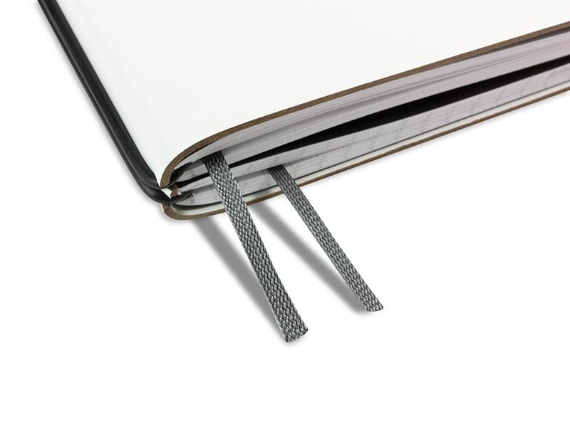 Doppelbuchband anthrazit
