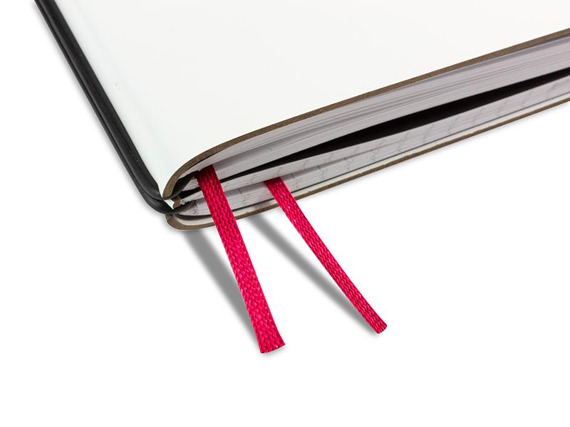 Doppelbuchband fuchsia