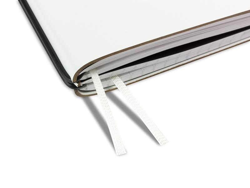 Doppelbuchband off-weiß