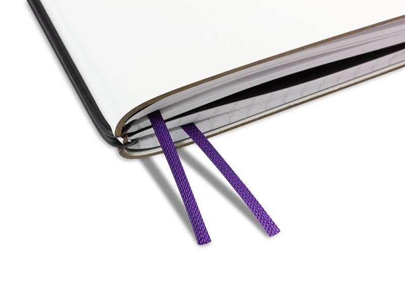 Doppelbuchband violett