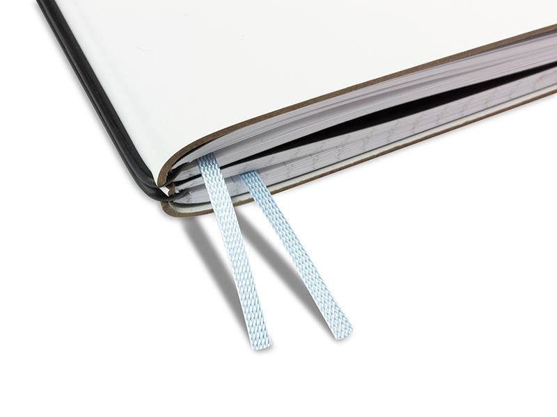 Doppelbuchband pastell blau