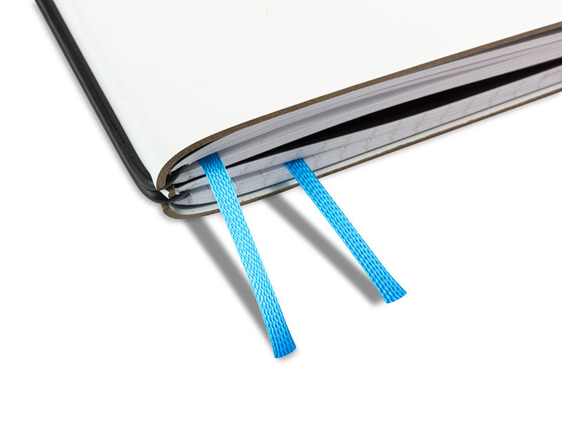 Doppelbuchband azur blau