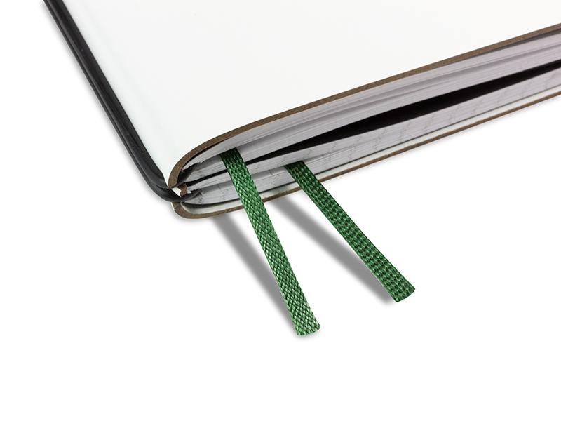 Doppelbuchband moosgrün
