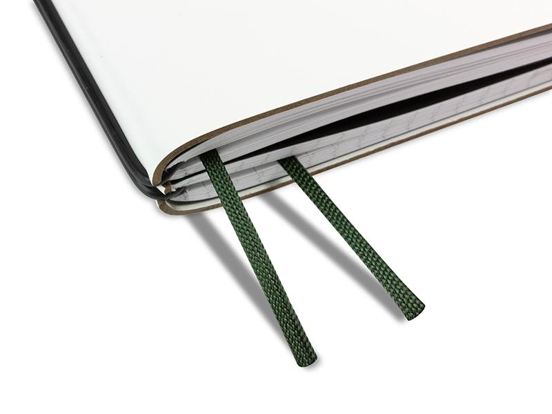 Doppelbuchband dunkelgrün
