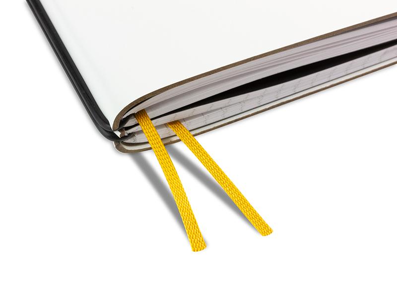 Doppelbuchband ocker