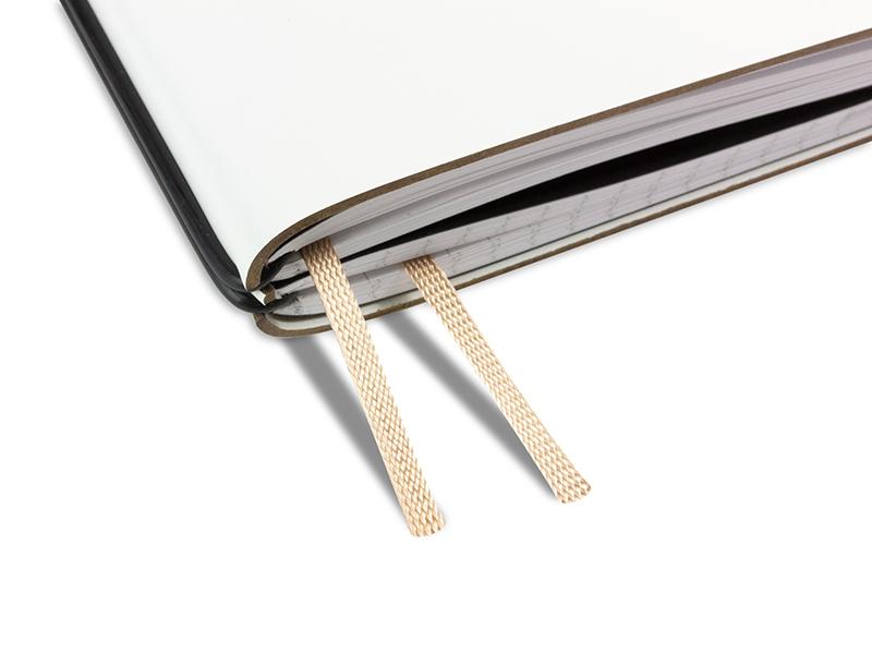 Doppelbuchband hellbraun