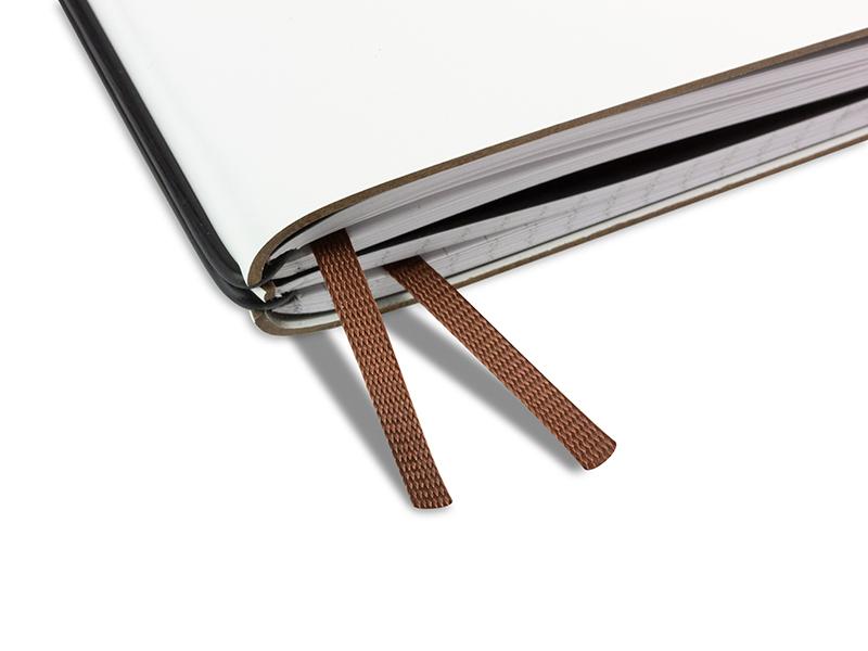 Doppelbuchband braun