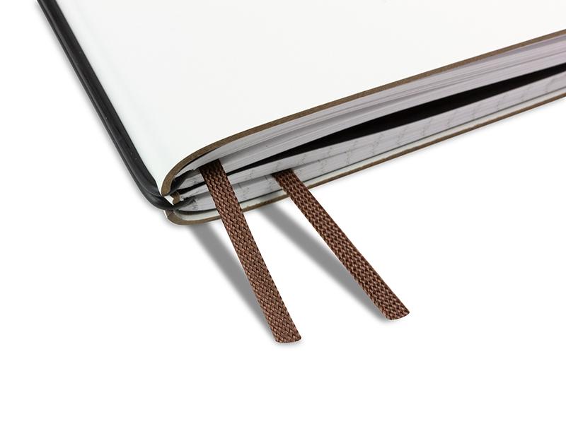 Doppelbuchband mittelbraun