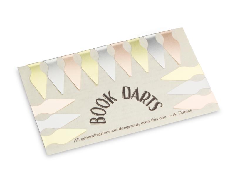 Book Darts - Lesezeichen
