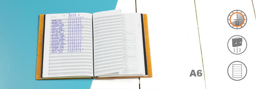 A6 Lehrerkalender