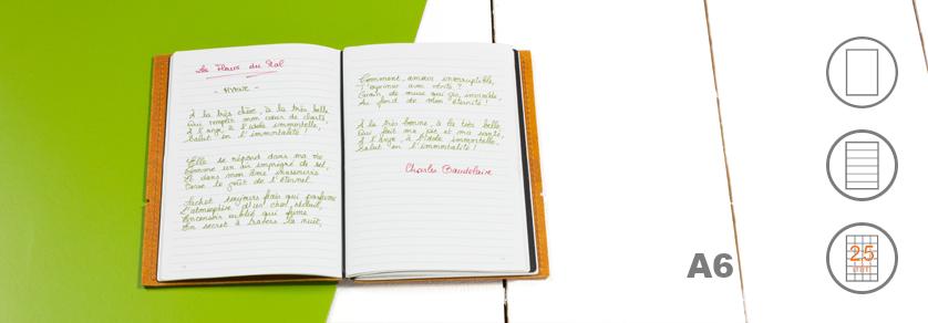 A6 Notizbücher
