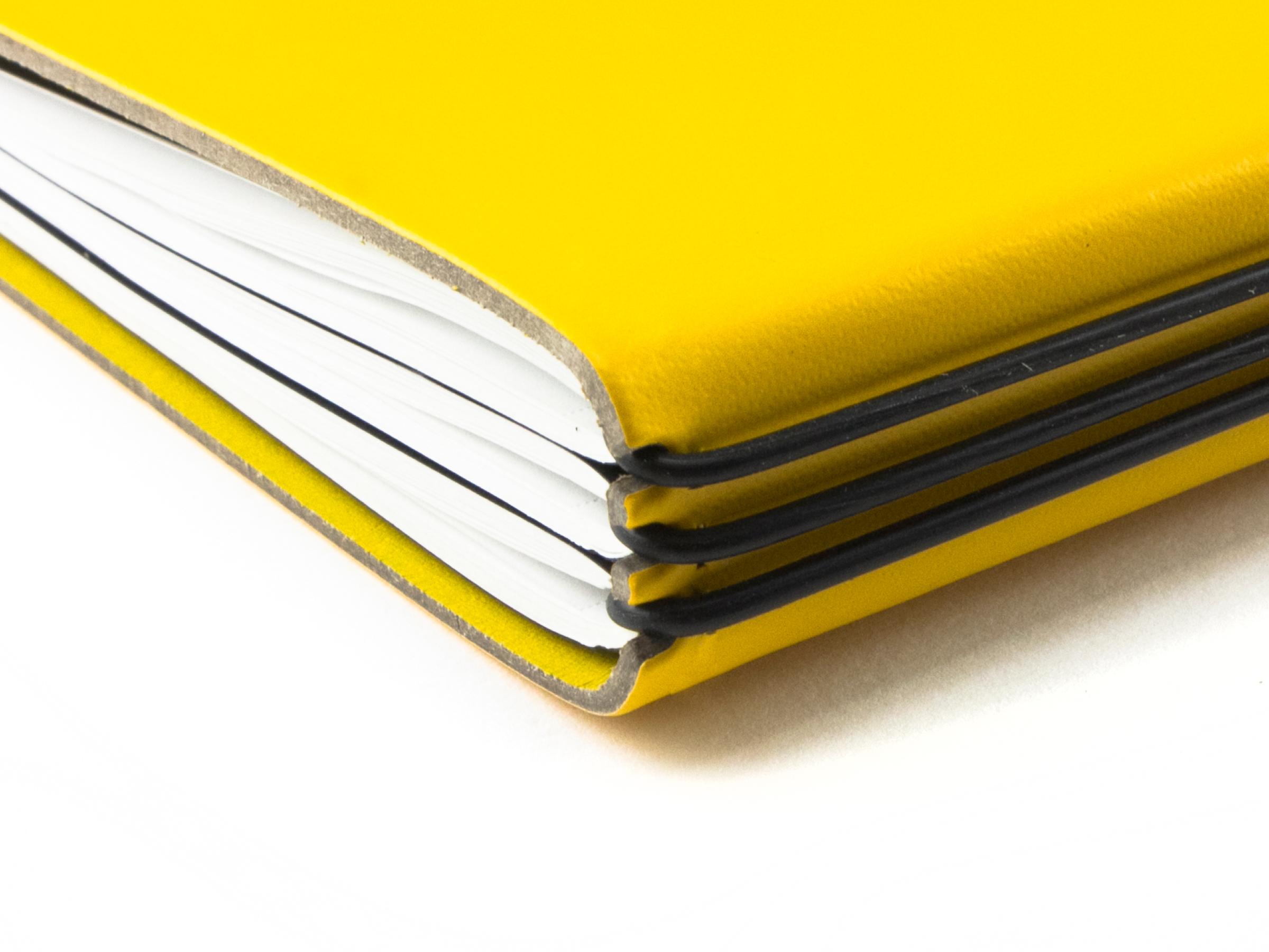 A5+ Quer Lefa Hülle 1er gelb, inkl. ElastiX