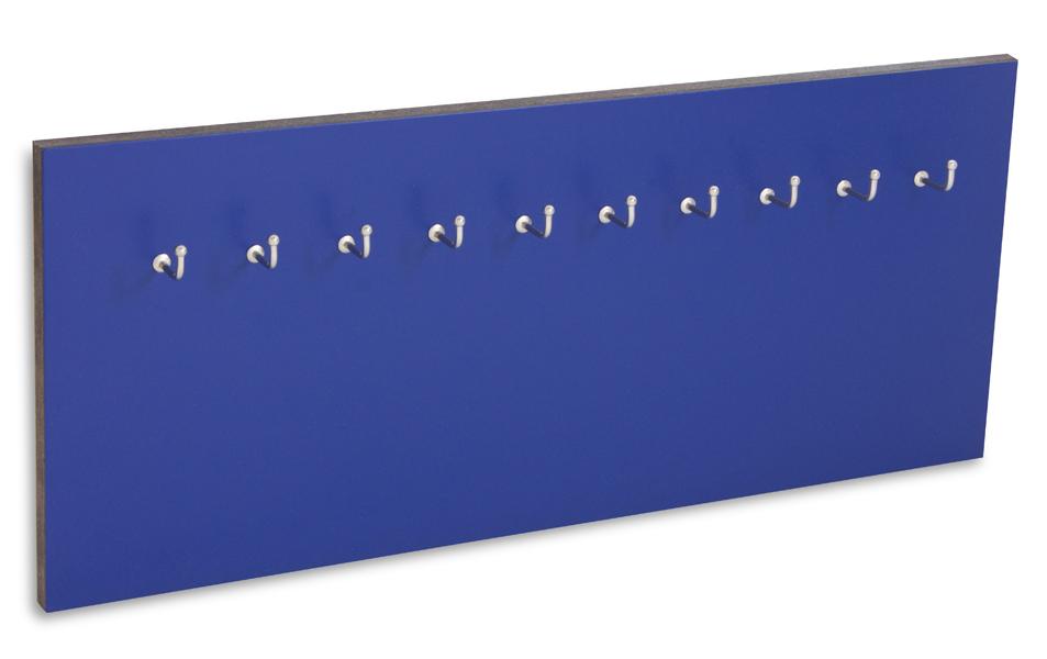 X17 Schlüsselbrett 10er Lefa blau
