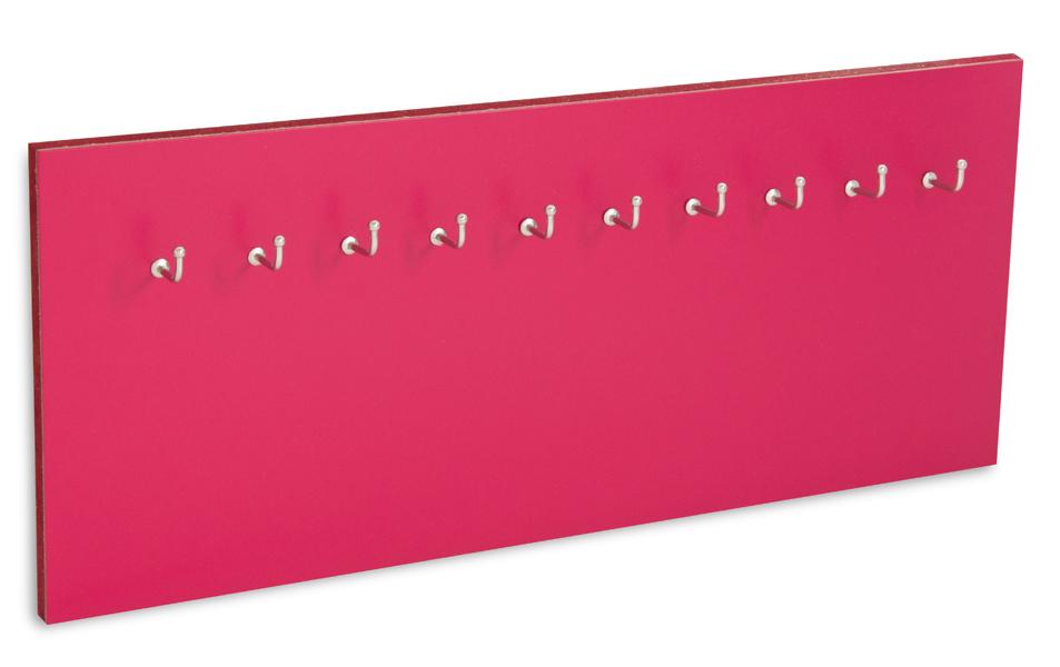 X17 Schlüsselbrett 10er Lefa magenta