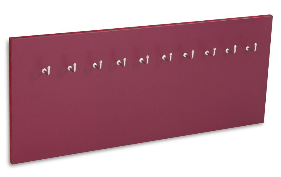 X17 Schlüsselbrett 10er Lefa violett