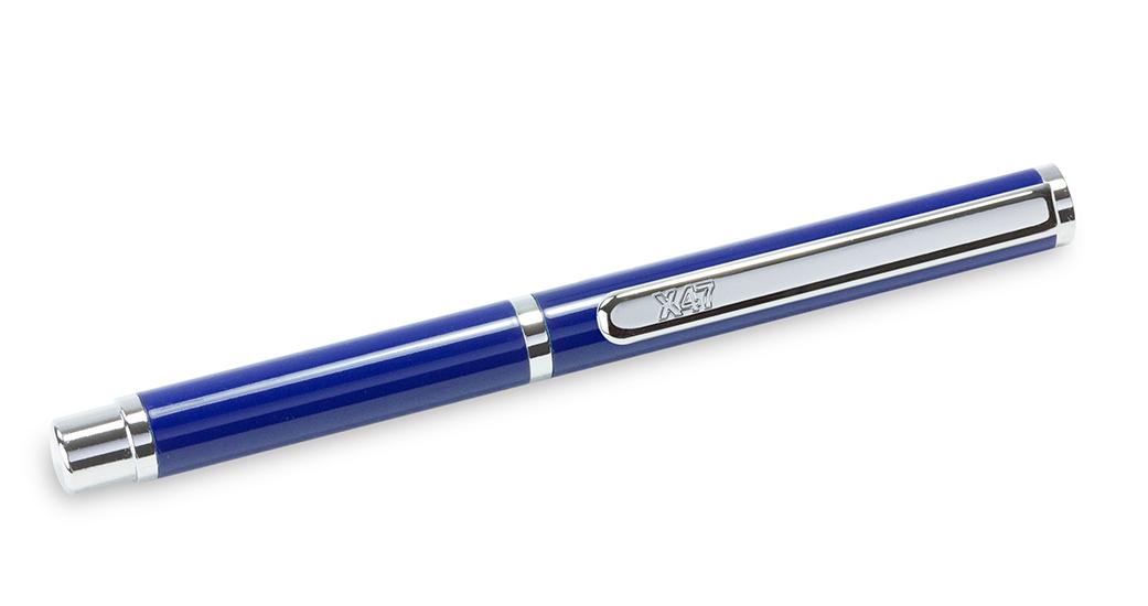 X47-Kugelschreiber MINI in dunkelblau