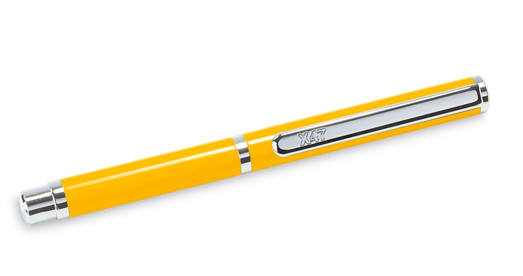 X47-Kugelschreiber MINI in gelb