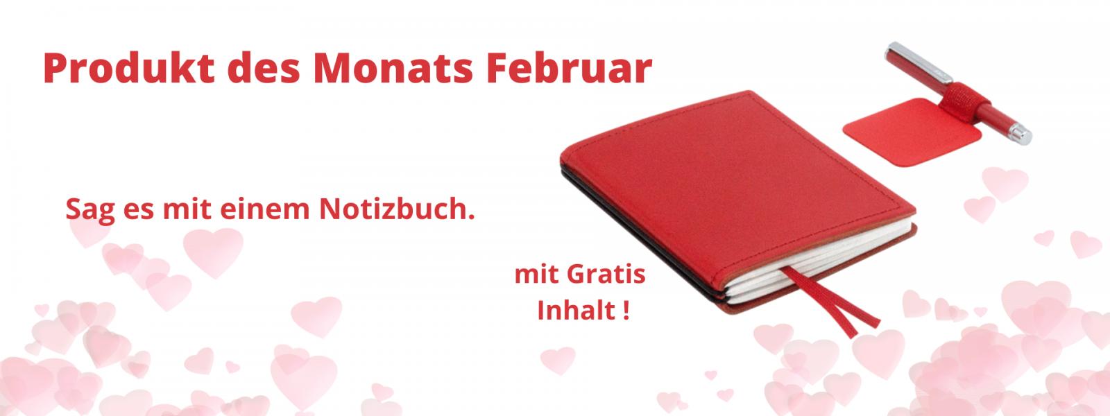 Produkt des Monats Februar